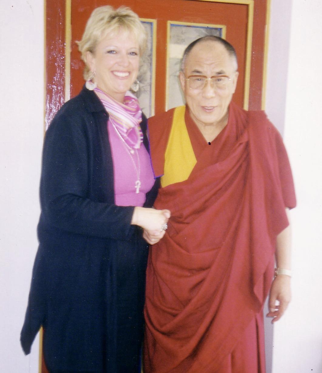 Dalai Lama - Linda Cruse